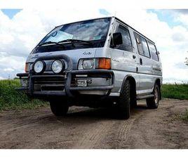 MITSUBISHI L300 4WD ALLRAD CAMPER VAN WOMO UNIKAT ORIGINAL!
