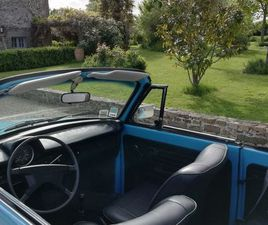 VW COX CABRIOLET 1975