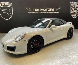 PORSCHE 911 991 CABRIOLET 3.0 L 420 CARRERA S PDK