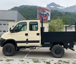 IVECO DAILY 4X4 DOUBLE CABINE