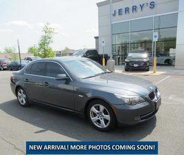GRAY COLOR 2008 BMW 5 SERIES 535XI FOR SALE IN LEESBURG, VA 20176. VIN IS WBANV93538CZ6584