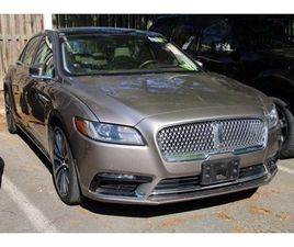 BEIGE COLOR 2018 LINCOLN CONTINENTAL RESERVE FOR SALE IN ALEXANDRIA, VA 22303. VIN IS 1LN6