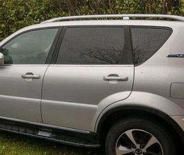 SSANGYONG REXTON COMMERCIAL FOR SALE IN DUBLIN FOR €16,750 ON DONEDEAL