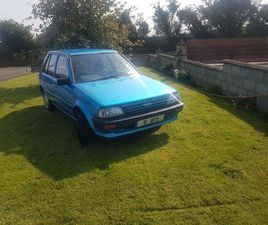 TOYOTA STARLET 1.3 2E 12V 1986 FOR SALE IN TIPPERARY FOR €3,995 ON DONEDEAL