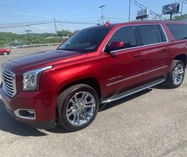 RED COLOR 2018 GMC YUKON XL SLT FOR SALE IN WHITE HALL, WV 26554. VIN IS 1GKS2GKC8JR235461
