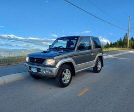 2000 MITSUBISHI PAJERO MINI 660CC TURBO AT 4X4 | CARS & TRUCKS | KELOWNA | KIJIJI