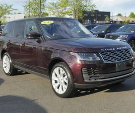 RED COLOR 2018 LAND ROVER RANGE ROVER HSE FOR SALE IN CHANTILLY, VA 20151. VIN IS SALGS2SV