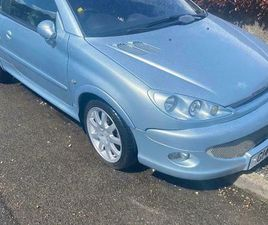 PEUGEOT 206CC SUPER LOW MILEAGE FOR YEAR