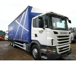 2010 SCANIA G400 CURTAIN SIDER 6X2 WITH TAIL LIFT ACTROS P SERIES TIPPER