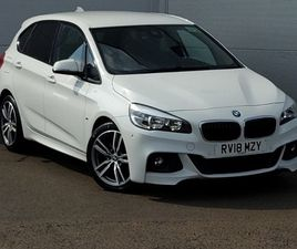 USED 2018 (18) BMW 2 SERIES ACTIVE TOURER 218I M SPORT 5DR [NAV] STEP AUTO IN LINWOOD