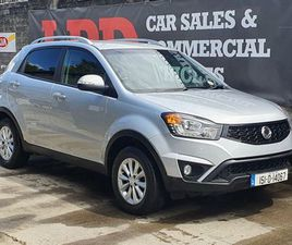 SSANGYONG KORANDO, 2015 DOE 01/22 & TAXED 09/21 FOR SALE IN DUBLIN FOR €8,950 ON DONEDEAL