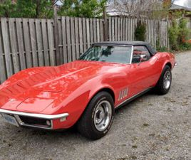 1968 CORVETTE MATCHING NUMBER CONVERTIBLE NOW $42,500. | CLASSIC CARS | ST. CATHARINES | K