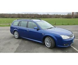 FORD MONDEO ST155 DIESEL ESTATE - A RARE AND VERY MUCH APPRECIATING CLASSIC