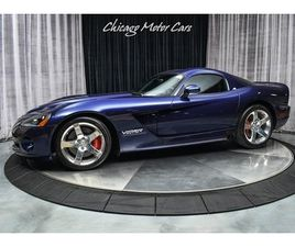 2008 DODGE VIPER SRT-10 COUPE ONLY 12K MILES! RARE PRISTINE EXAMPLE! SERVICED!