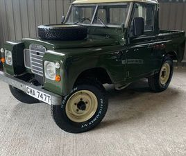 LAND ROVER SERIES 3 DIESEL FOR SALE IN MAYO FOR €9,950 ON DONEDEAL