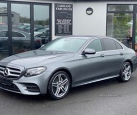 USED 2019 MERCEDES-BENZ E CLASS 220 D AMG LINAUTO SALOON 30,000 MILES IN GREY FOR SALE | C