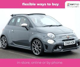 ABARTH 595 1.4 T-JET 165 TURISMO 2DR LEATHER SEATS