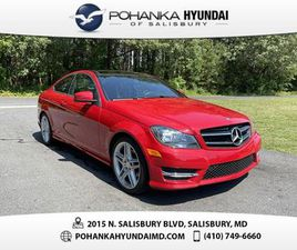 RED COLOR 2015 MERCEDES-BENZ C-CLASS C 250 FOR SALE IN SALISBURY, MD 21801. VIN IS WDDGJ4H