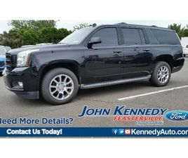 BLACK COLOR 2015 GMC YUKON XL SLT FOR SALE IN FEASTERVILLE, PA 19053. VIN IS 1GKS2HKC5FR12