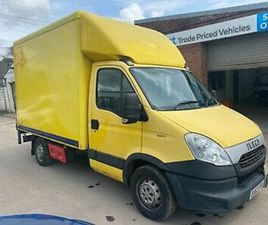 63 PLATE IVECO DAILY 35S11 2.3HDI AUTOMATIC LUTON BOX VAN TAIL LIFT MOTED NO VAT