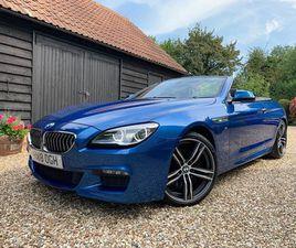 BMW 6 SERIES 3.0 640D M SPORT AUTO (S/S) 2DR