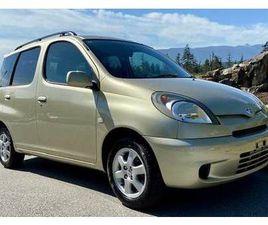 TOYOTA FUN CARGO SUV 4X4 52,000 KM LIKE NEW