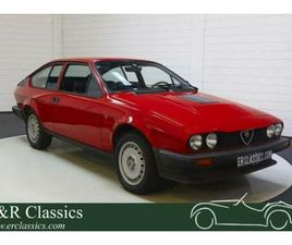 ALFA ROMEO GTV6 90.667 KM   NIE GESCHWEIßT   1981