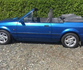 1989 FORD ESCORT XR3I CONVERTIBLE FOR SALE IN LOUTH FOR €4,500 ON DONEDEAL