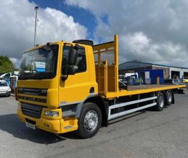 2014 DAF CF 75 310 6X2 FLAT OR CHASSIS FOR SALE IN ARMAGH FOR €1 ON DONEDEAL