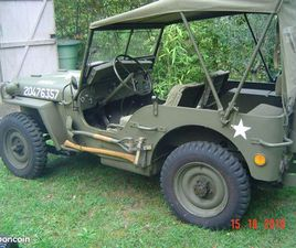 VENTE JEEP WILLYS MB DU 01/01/1943
