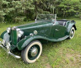 1951 MG TD | CLASSIC CARS | KITCHENER / WATERLOO | KIJIJI