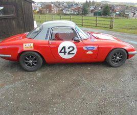 LOTUS ELAN S3 FHC RACE CAR