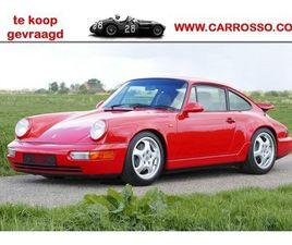 PORSCHE 356 / 911 LUCHTGEKOELD EN 912 TE KOOP GEVRAAGD