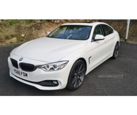 USED 2016 BMW 4 SERIES GRAN COUPE LUXURY COUPE 75,000 MILES IN WHITE FOR SALE | CARSITE