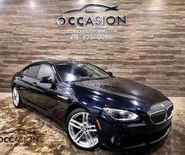 2015 BMW 640 640I XDRIVE GRAN COUPÉ BERLINE 4 PORTES