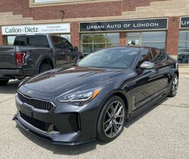 SORRY SOLD! 2019 KIA STINGER GT LINE, 2 SETS OF TIRES AND RIMS, ONE OWNER, NO ACCIDENTS! |