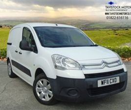 USED 2011 CITROEN BERLINGO 1.6 625 LX L1 HDI 75 BHP + VAT NOT SPECIFIED 72,000 MILES IN WH