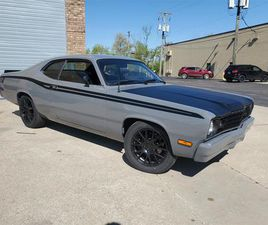 FOR SALE: 1973 PLYMOUTH DUSTER IN CHESTERFIELD, MICHIGAN