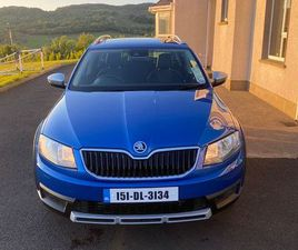 SKODA OCTAVIA SCOUT 4X4 2.0 TDI 150BHP FOR SALE IN DONEGAL FOR €13,850 ON DONEDEAL