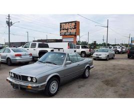 USED 1989 BMW 3 SERIES 325IC*E30*CONVERTIBLE*DRIVES LIKE NEW*