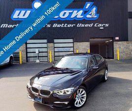 USED 2017 BMW 3 SERIES 320I XDRIVE LUXURY, PREMIUM PACKAGE, DAKOTA LEATHER, NAVIGATION, SU