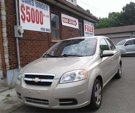USED 2011 CHEVROLET AVEO GAS MISER CLEAN NO ACCIDENTS + FREE 6M WARRANTY