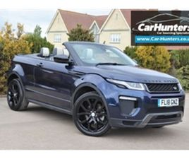 USED 2018 LAND ROVER RANGE ROVER EVOQUE 2.0 SI4 HSE DYNAMIC 3D 238 BHP CONVERTIBLE 25,600