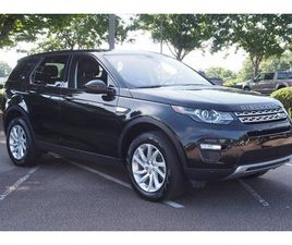 BLACK COLOR 2019 LAND ROVER DISCOVERY SPORT HSE FOR SALE IN WAKE FOREST, NC 27587. VIN IS