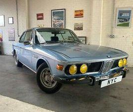 1972 BMW E9 3.0 CS COUPE MANUAL LHD BLUE - INCREDIBLE VALUE E9 CLASSIC