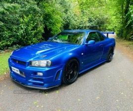 USED 2016 NISSAN SKYLINE R34 FULL GTR CONVERSION COUPE IN BLUE FOR SALE | CARSITE