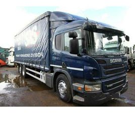 2012 SCANIA P320 6X2 CURTAIN SIDER WITH TAIL LIFT ACTROS MAN EXPORT TIPPER BOX