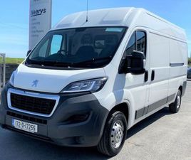 PEUGEOT BOXER 333 L3 H2 2.0 BLUE HDI 1 FOR SALE IN DUBLIN FOR €16,000 ON DONEDEAL