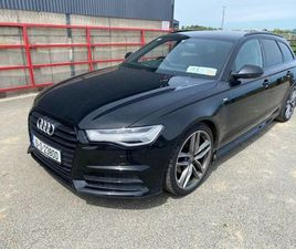 AUDI A6 S-LINE AVANT FOR SALE IN LOUTH FOR €25,500 ON DONEDEAL