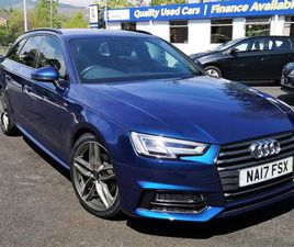 2017 AUDI A4 AVANT 2.0 TDI S LINE 5DR S TRONIC FOR SALE IN DOWN FOR £14,500 ON DONEDEAL